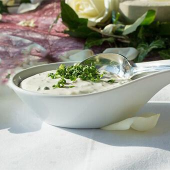 Kräuter-Sauce vegan