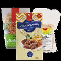Huehnerfleisch-vegan
