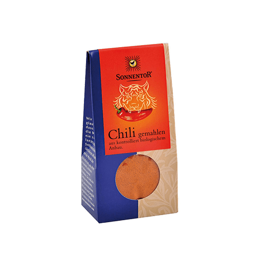 Chili gemahlen, Sonnentor