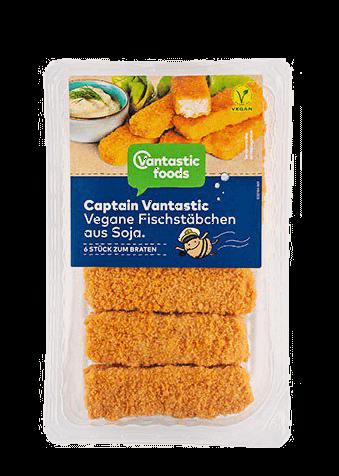 Vegane Fischstäbchen, Vantastic foods