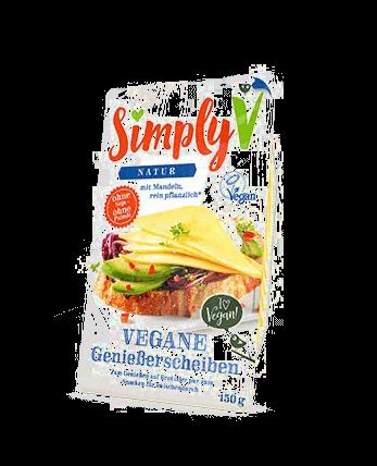 Vegane Genießerscheiben, Simply V