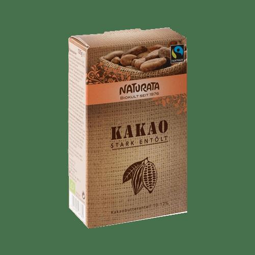 Kakao stark entölt, Naturata