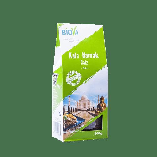 Kala Namak Salz, Biova