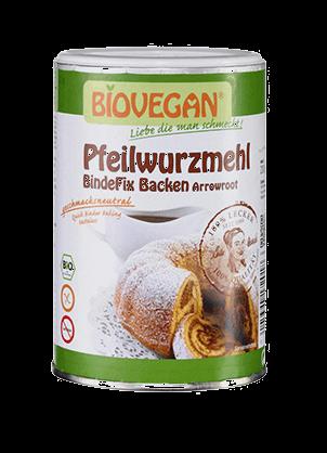 Pfeilwurzmehl, Biovegan