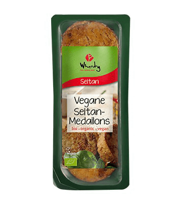 Vegane Seitan-Medaillons, Wheaty