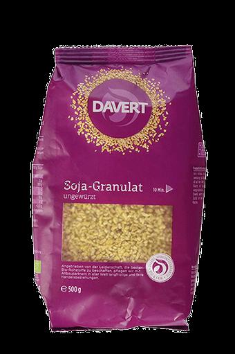 Soja-Granulat, Davert
