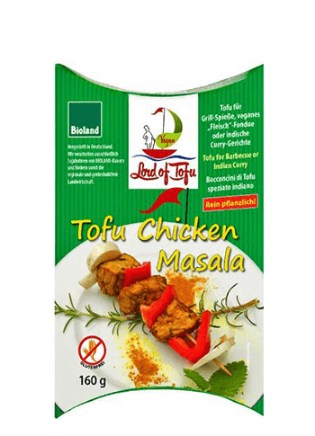 Tofu Chicken Masala, Lord of Tofu