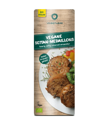 Vegane Seitan-Medaillons, Veggyness