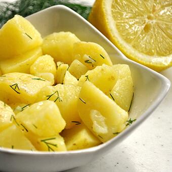Veganer Erdäpfelsalat